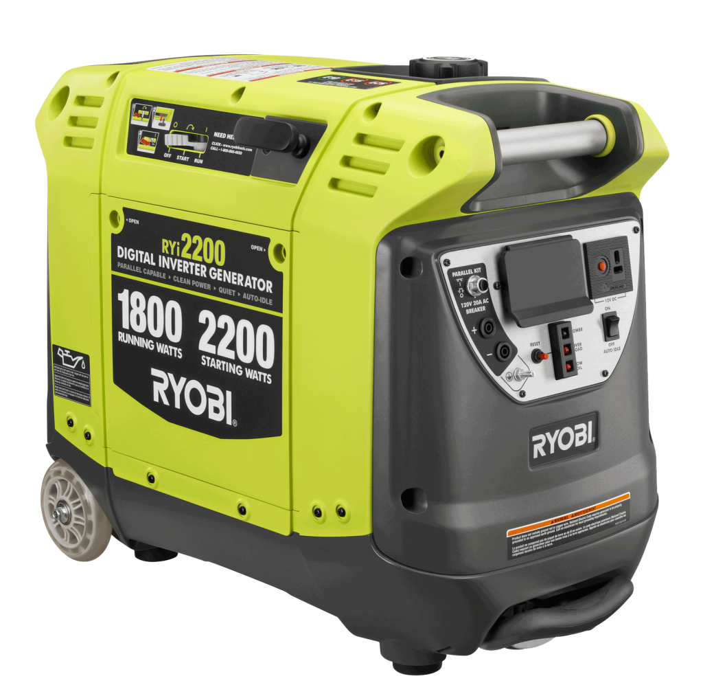 The Ryobi RYi2200 Outdoor Generator
