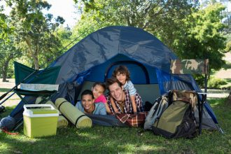 Backyard Camping: Fun for the whole family image